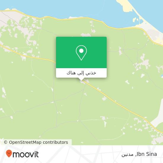 خريطة Ibn Sina