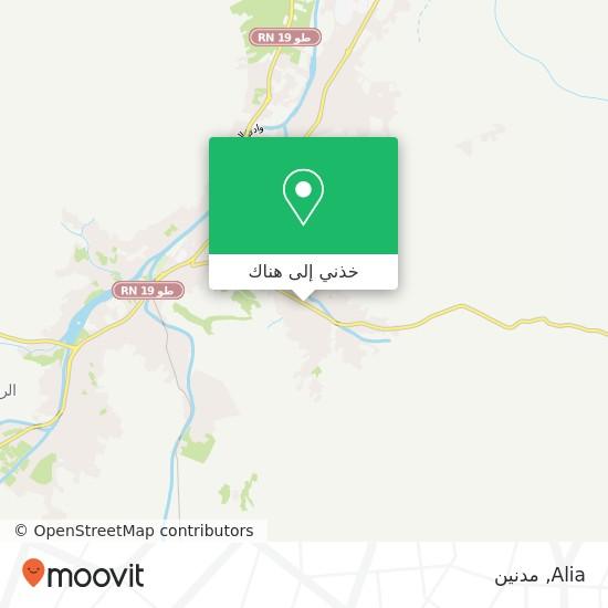 خريطة Alia