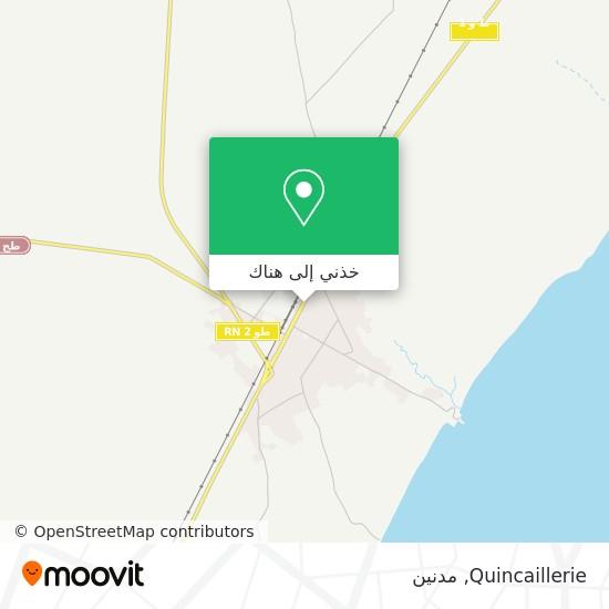 خريطة Quincaillerie