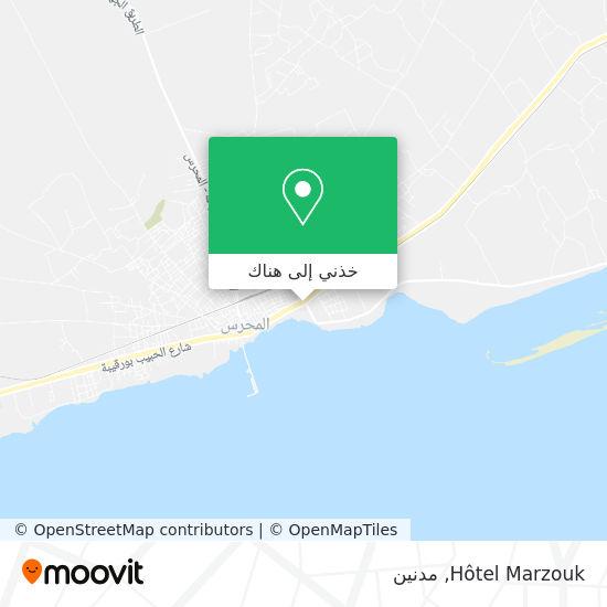 خريطة Hotel Marzouk