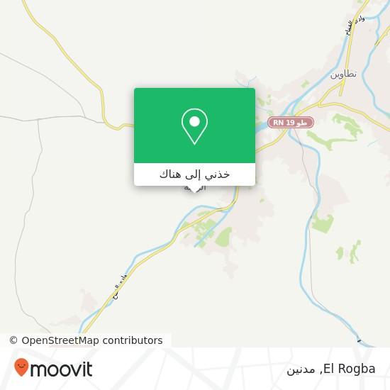 خريطة El Rogba