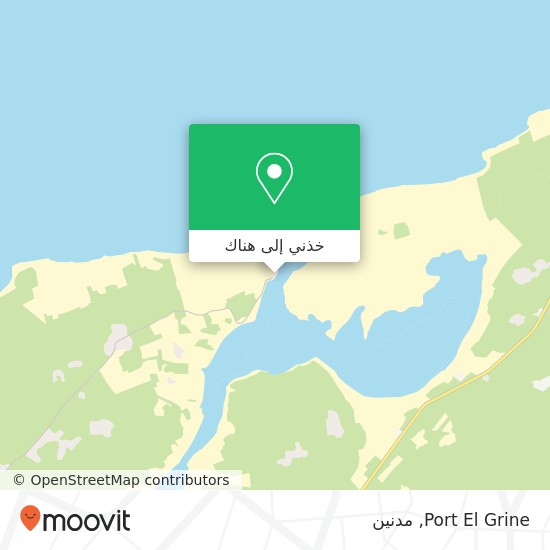 خريطة Port El Grine