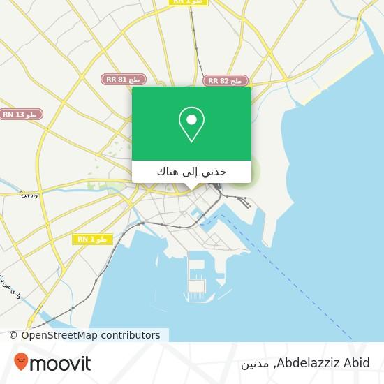 خريطة Abdelazziz Abid