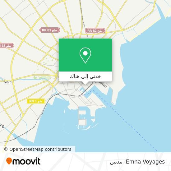 خريطة Emna Voyages