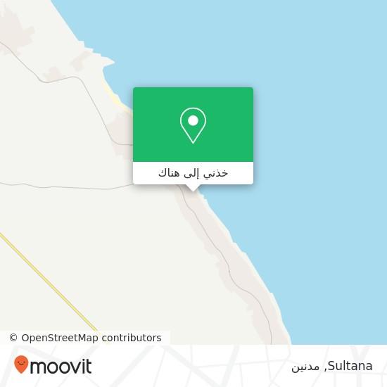 خريطة Sultana