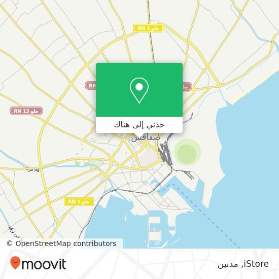 خريطة iStore