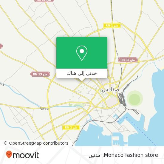 خريطة Monaco fashion store