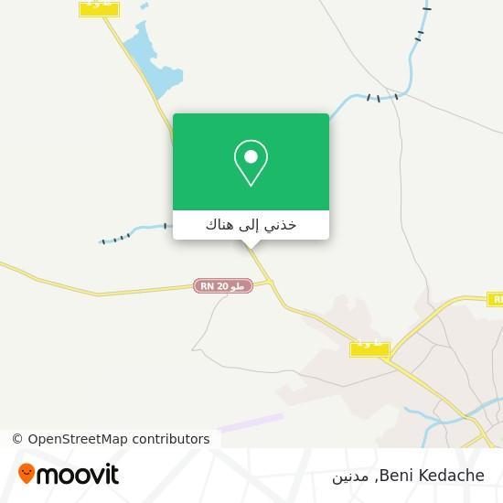 خريطة Beni Kedache
