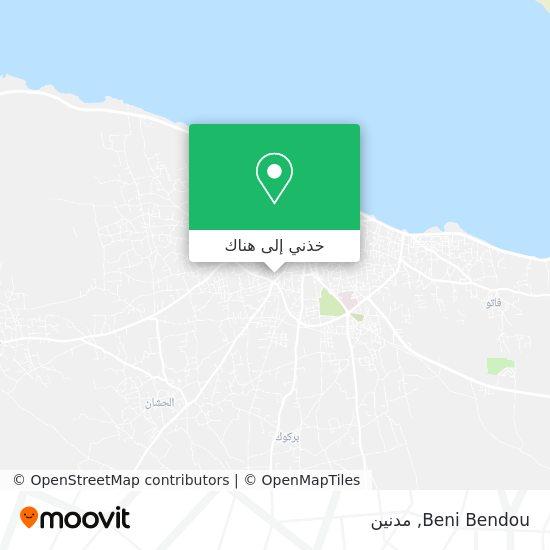 خريطة Beni Bendou