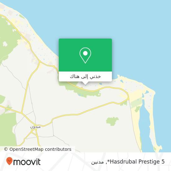 خريطة Hasdrubal Prestige 5*