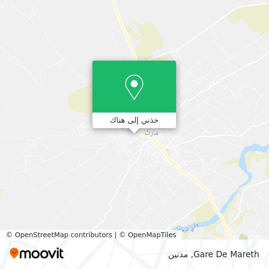 خريطة Gare De Mareth