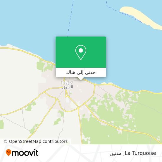 خريطة La Turquoise