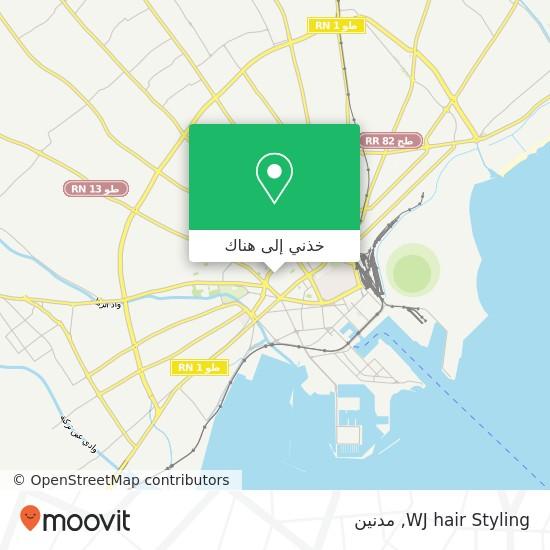 خريطة WJ hair Styling