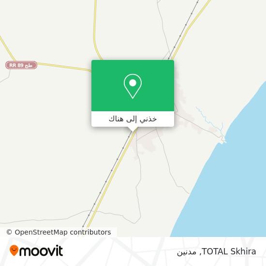خريطة TOTAL Skhira