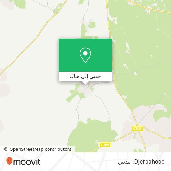 خريطة Djerbahood