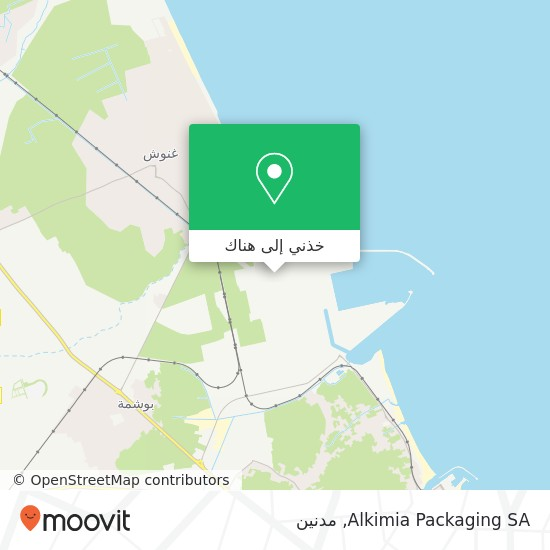 خريطة Alkimia Packaging SA