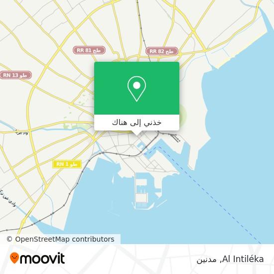 خريطة Al Intiléka