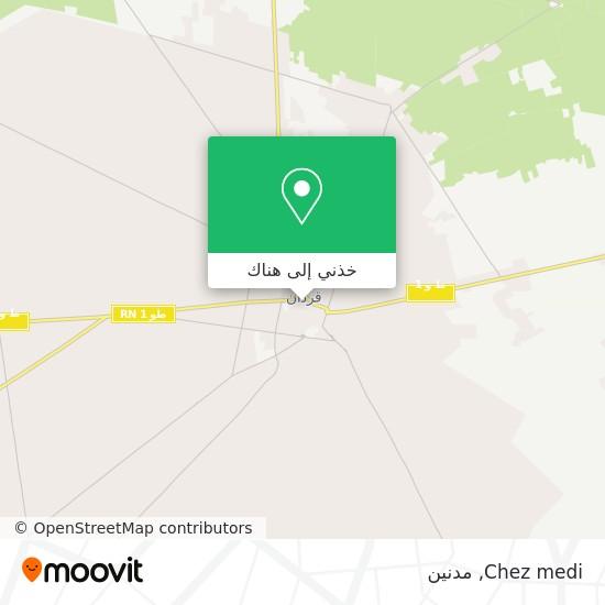 خريطة Chez medi
