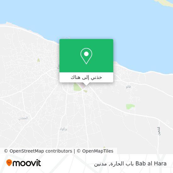 خريطة Bab al Hara باب الحارة