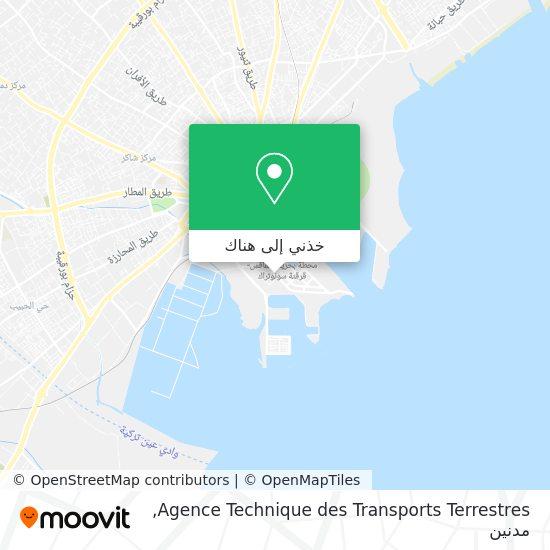 خريطة Agence Technique des Transports Terrestres