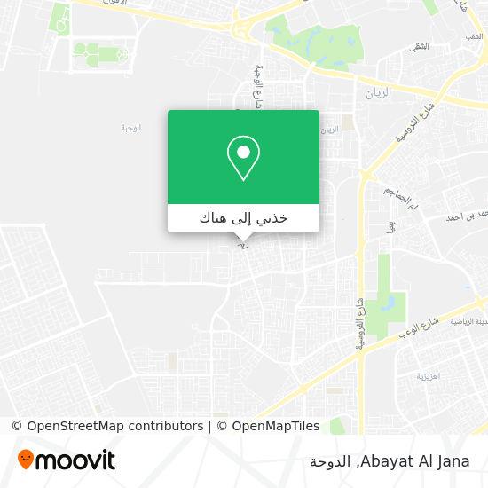 خريطة Abayat Al Jana