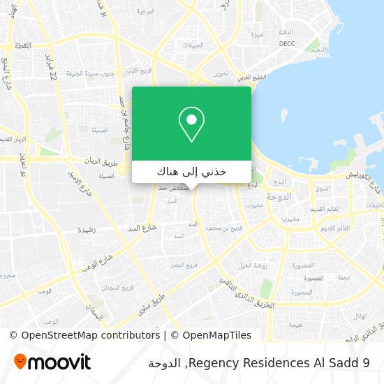 خريطة Regency Residences Al Sadd 9