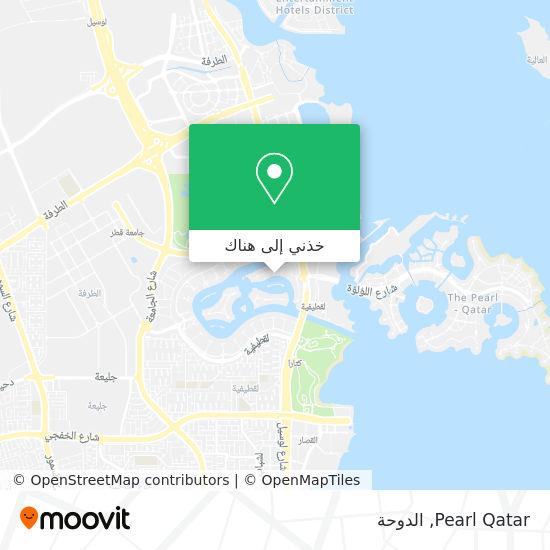 خريطة Pearl Qatar