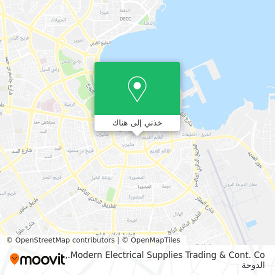 خريطة Modern Electrical Supplies Trading & Cont. Co.