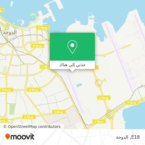 خريطة E18