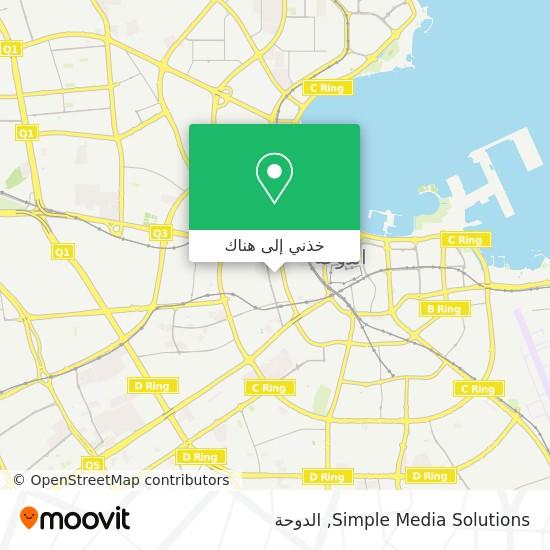 خريطة Simple Media Solutions