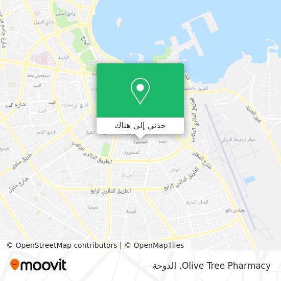 خريطة Olive Tree Pharmacy