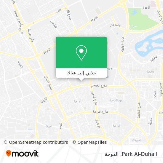 خريطة Park Al-Duhail