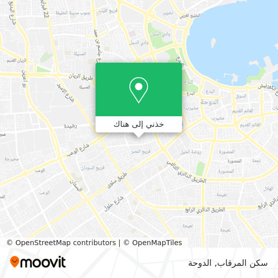 خريطة سكن المرقاب