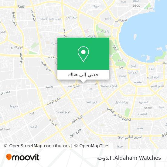 خريطة Aldaham Watches