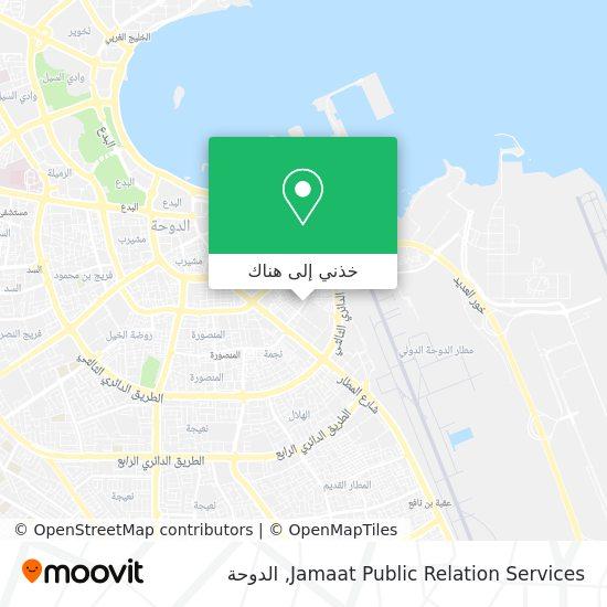 خريطة Jamaat Public Relation Services