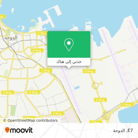 خريطة E7