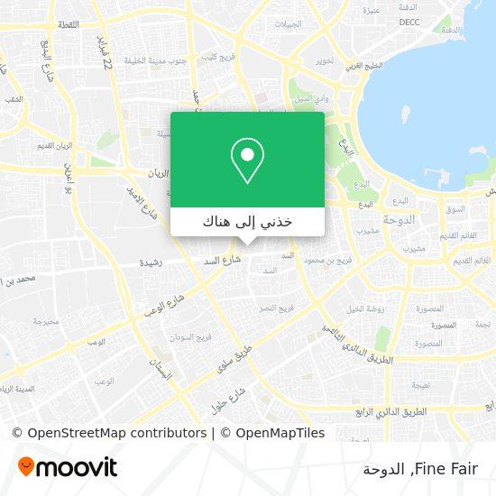 خريطة Fine Fair