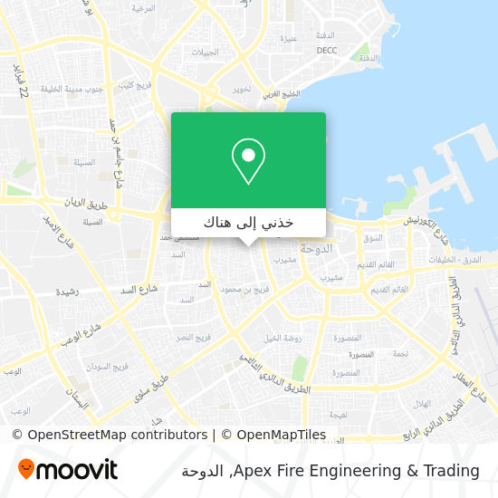 خريطة Apex Fire Engineering & Trading