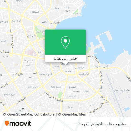 خريطة Msheireb Downtown Doha