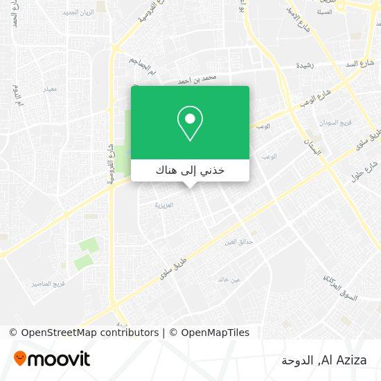 خريطة Al Aziza