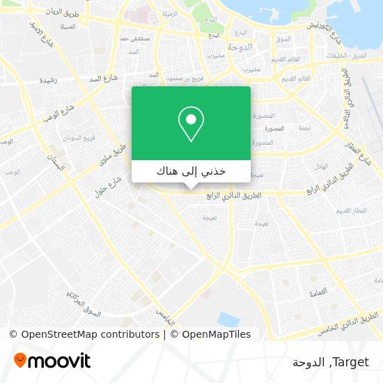 خريطة Target