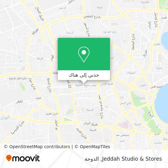 خريطة Jeddah Studio & Stores