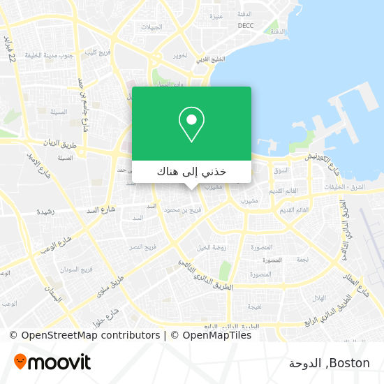 خريطة Boston