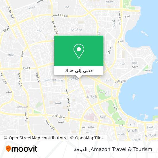 خريطة Amazon Travel & Tourism