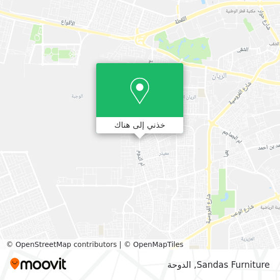 خريطة Sandas Furniture