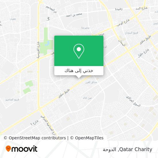 خريطة Qatar Charity