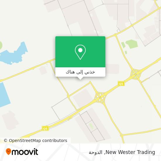خريطة New Wester Trading