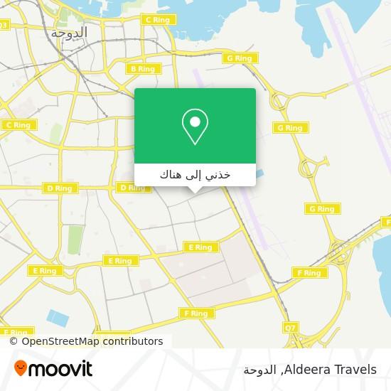 خريطة Aldeera Travels