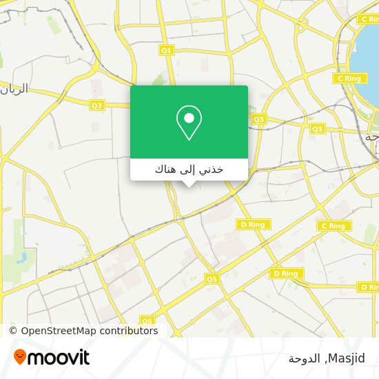 خريطة Masjid