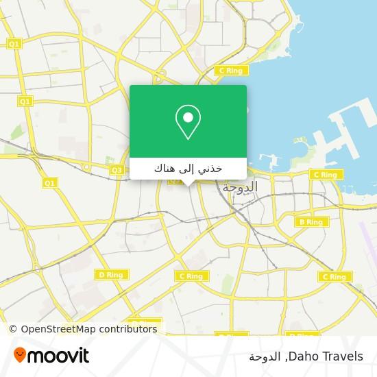 خريطة Daho Travels
